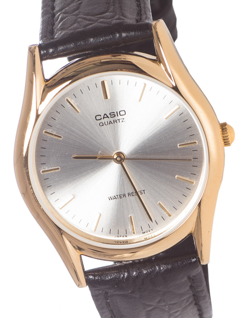 CASIO 3H GENT WHITE COLLECTION