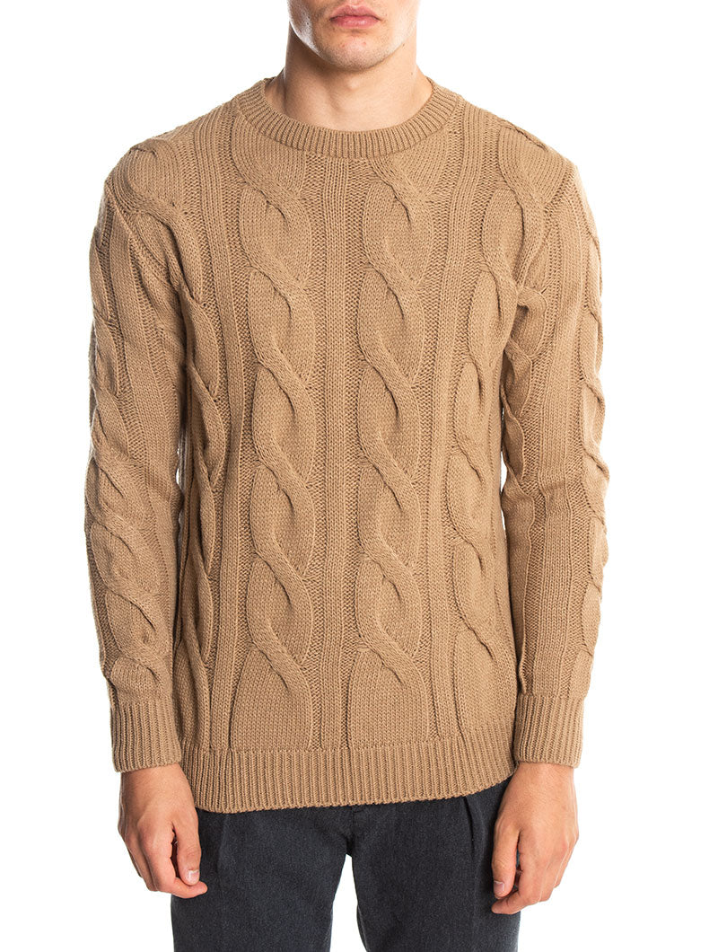 BRAID NHW SWEATER IN CAMEL