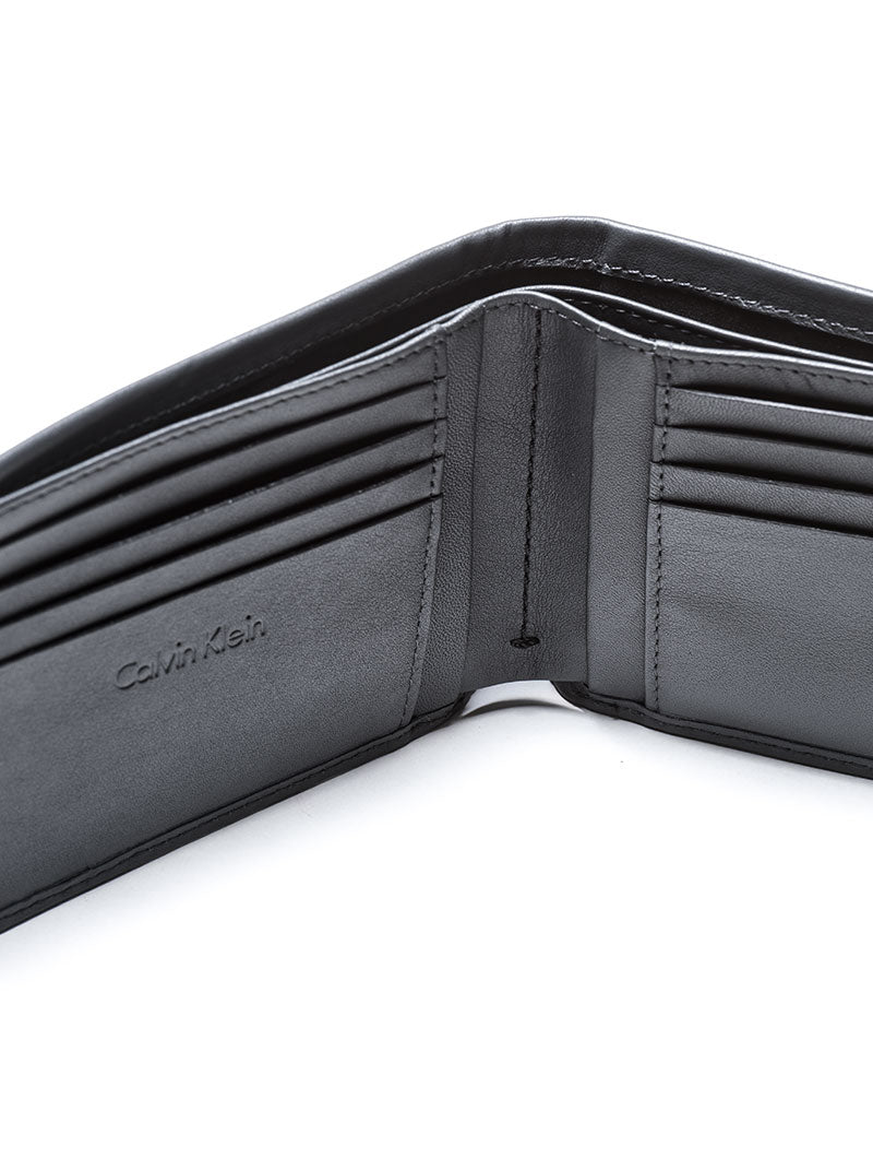 CALVIN GRID BILLFOLD WALLET