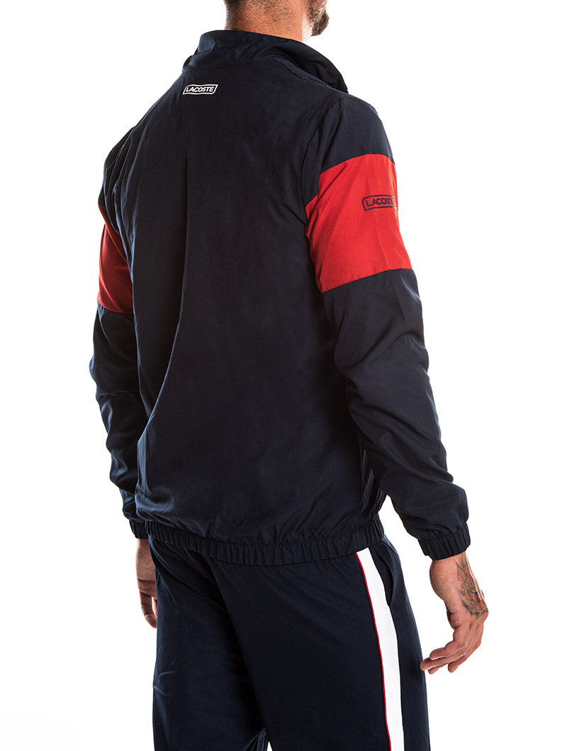 BLUE NAVY LACOSTE TRACKSUIT