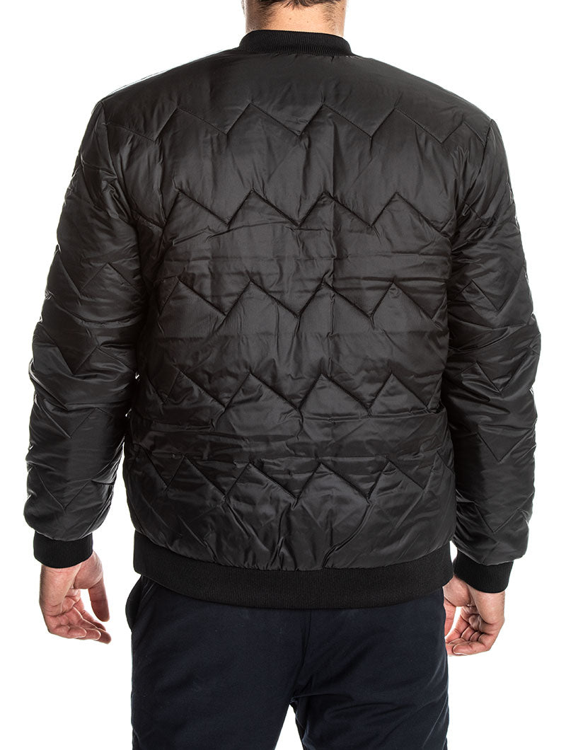 ADIDAS BOMBER SST QUILTED IN BLACK