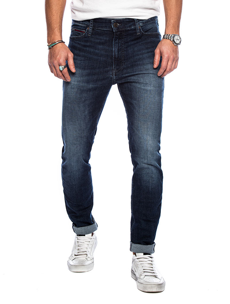 SIMON SKINNY NSUDK IN BLUE DENIM