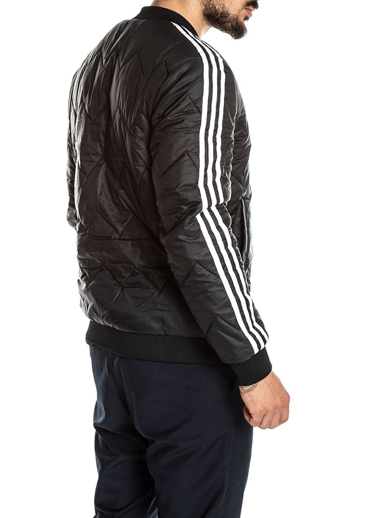 ADIDAS BOMBER SST QUIL TED IN BLACK
