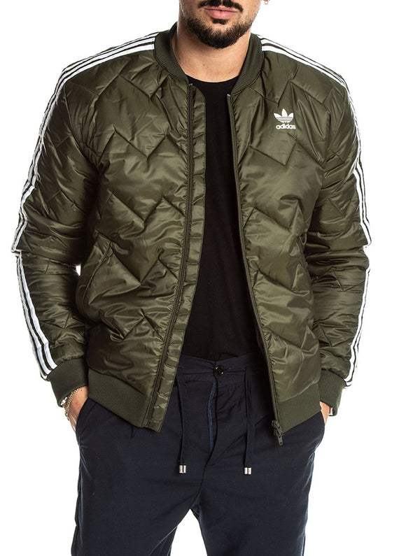 ADIDAS BOMBER SST QUILTED IN NIGHT CARGO 827e3b5301bb