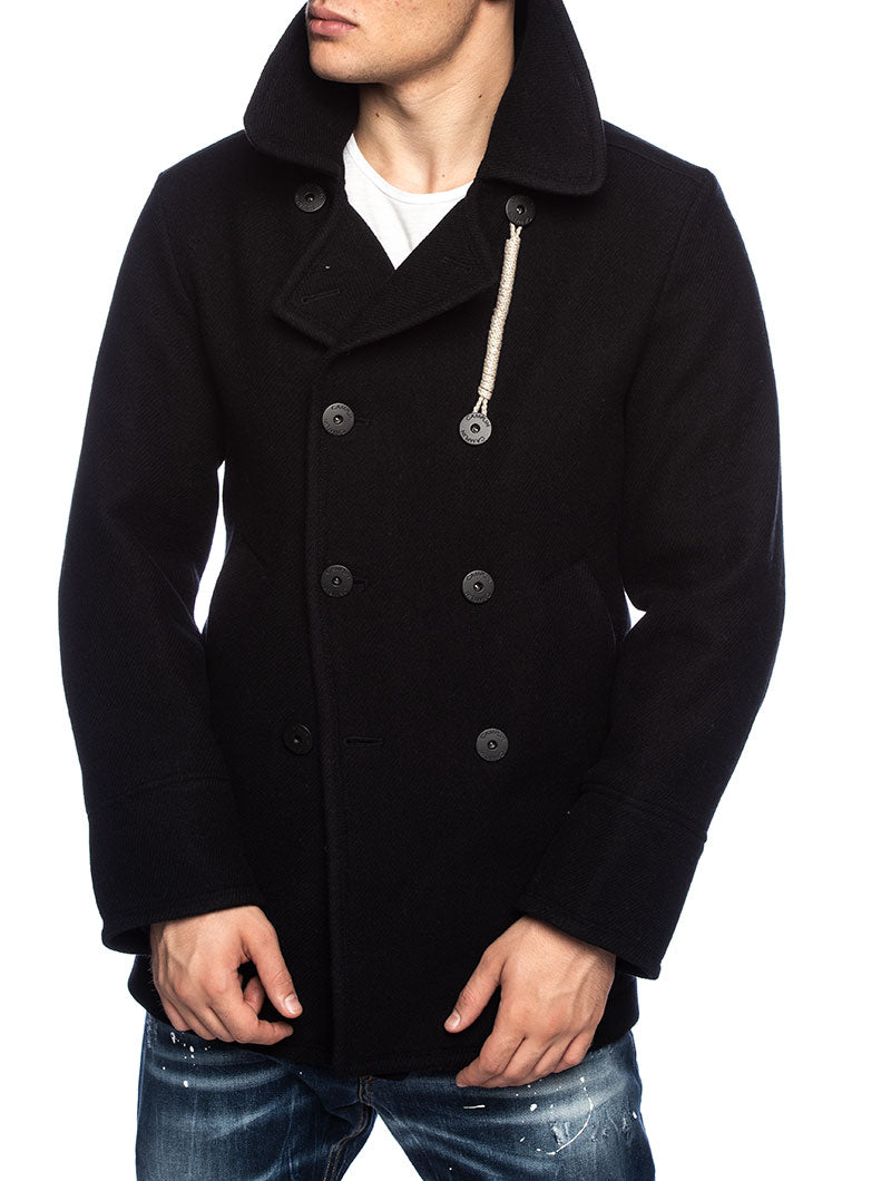 1893 PEACOAT IN BLUE NAVY