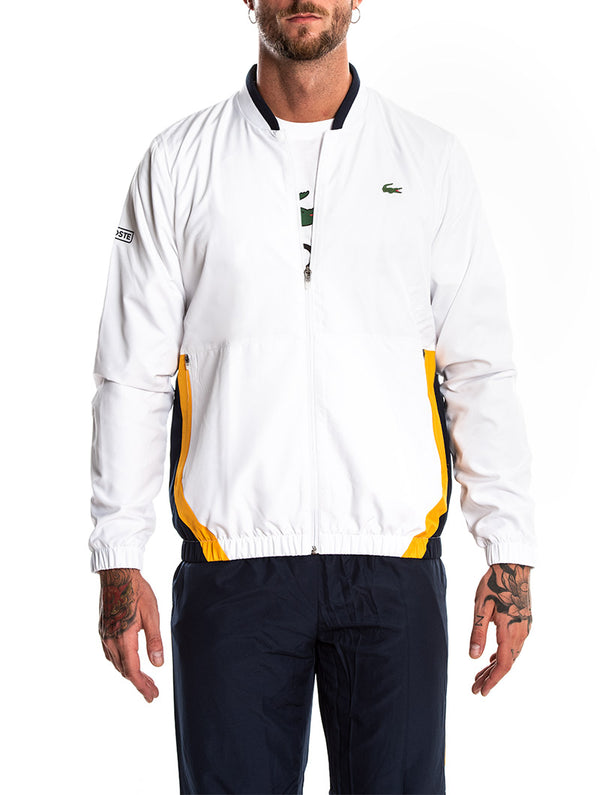9bf79f41d1 WHITE LACOSTE TRACKSUIT
