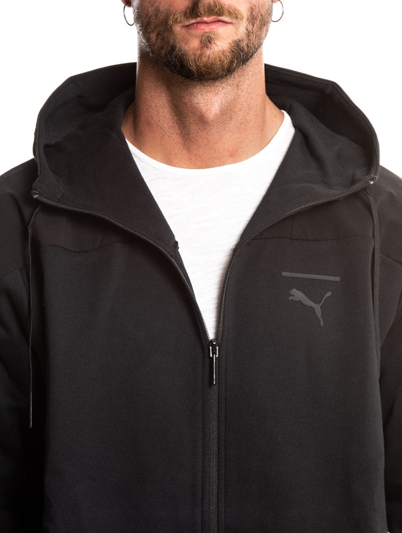 PACE LAB FZ HOODY IN BLACK