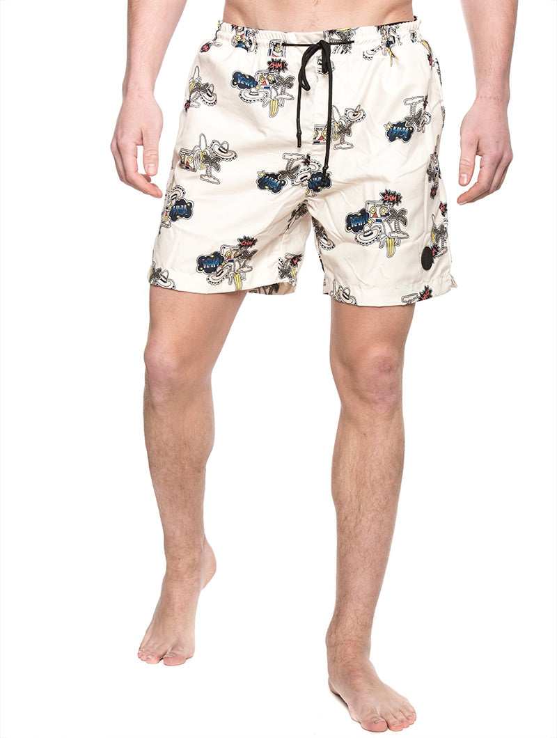 18580e305f SHARK SHORTS PAPYRUS IN BEIGE – Nohow Style