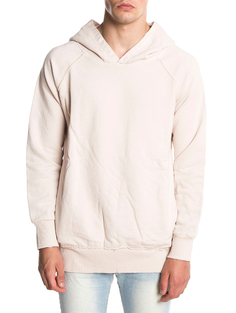 HOODED SWEATSHIRT IN NUDE