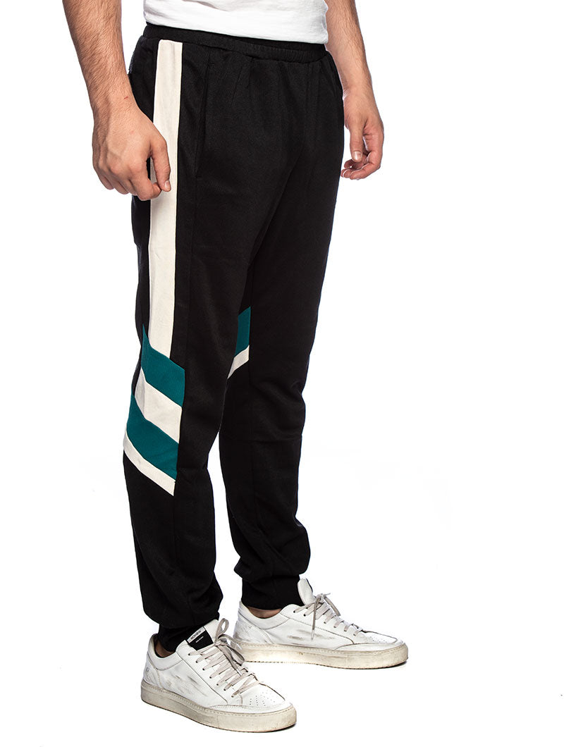 MEN NERITAN SWEATPANTS IN BLACK