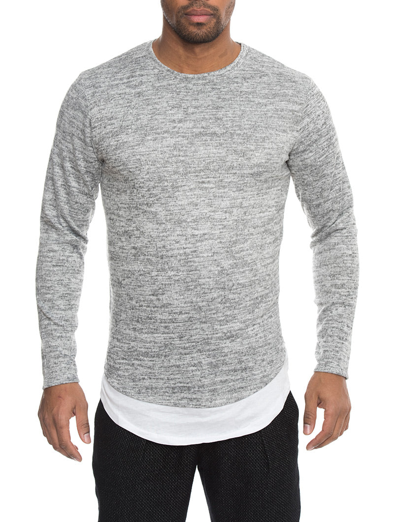 RAPID T-SHIRT IN GREY MELANGE