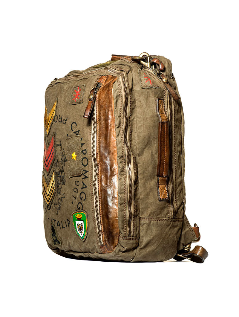 CA1B3 TRADITIONAL BAG IN ARMY GREEN