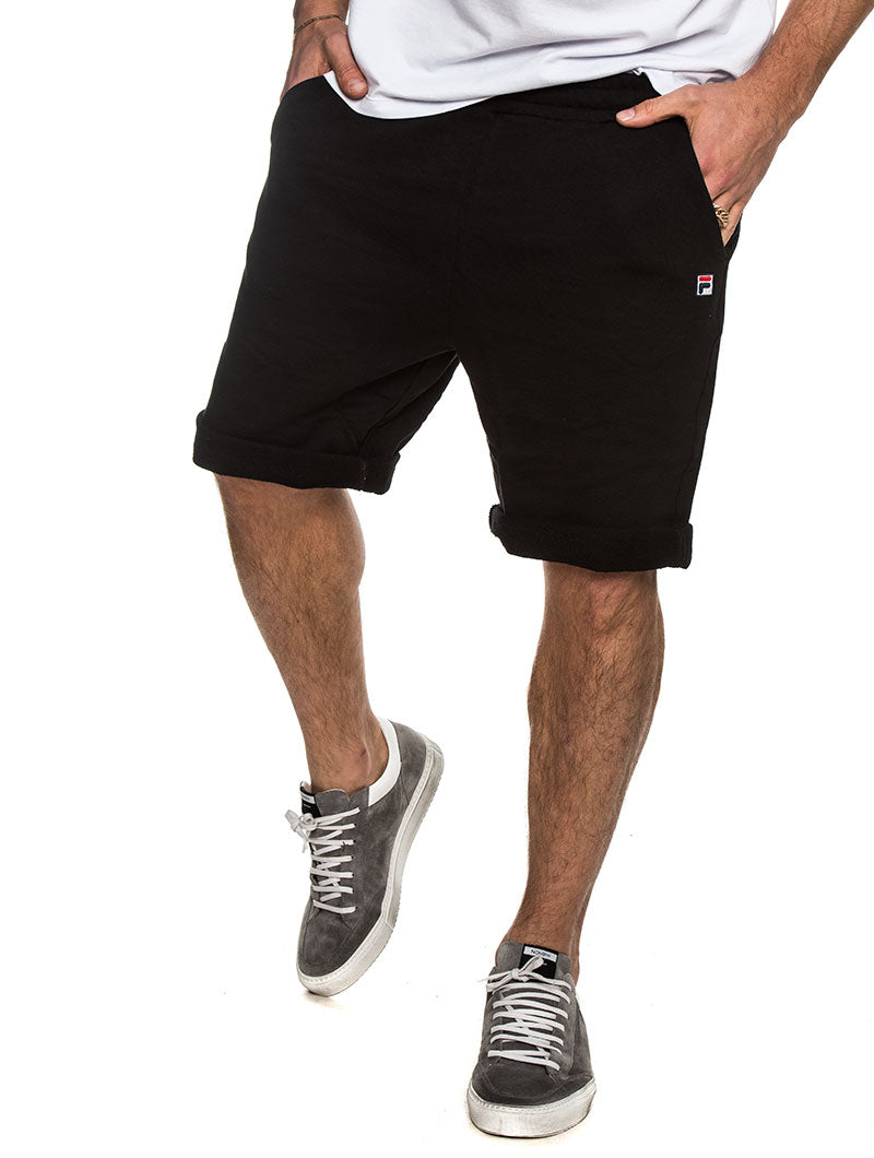CAMERON LONG SHORTS IN BLACK
