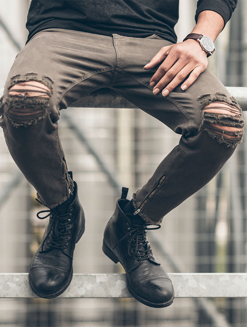 MUD RIPPED JEANS 2.0