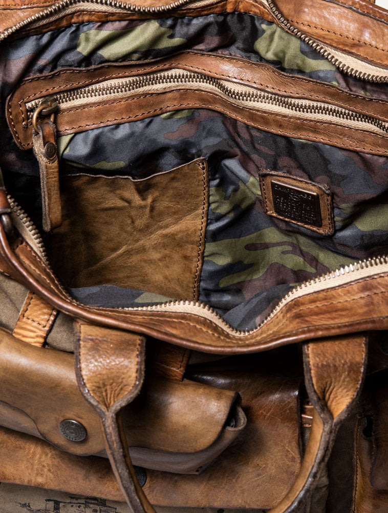 CA2B2 CARRY OVER BAG IN ARMY GREEN