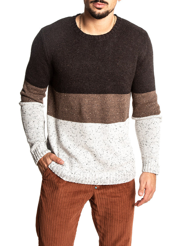THORKILD KNIT IN BROWN AND GREY · Anerkjendt 6f6d9ed8d27
