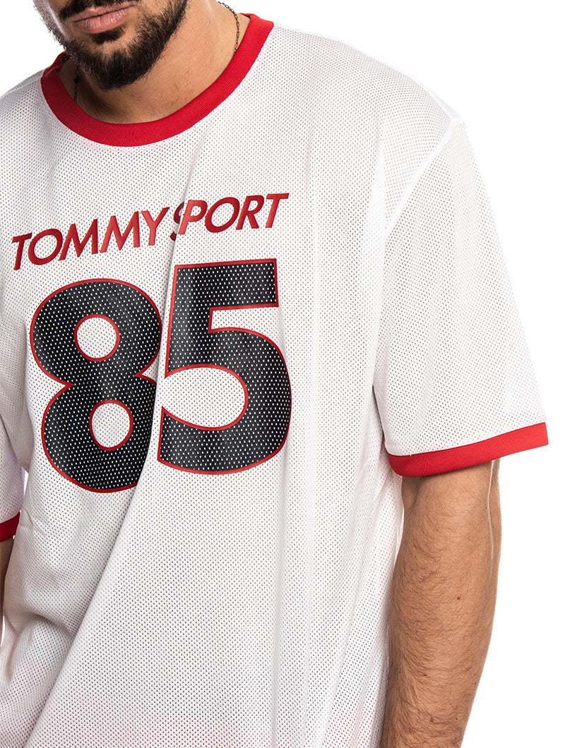 TOMMY SPORT T-SHIRT OVERSIZED 259 IN PVH WHITE