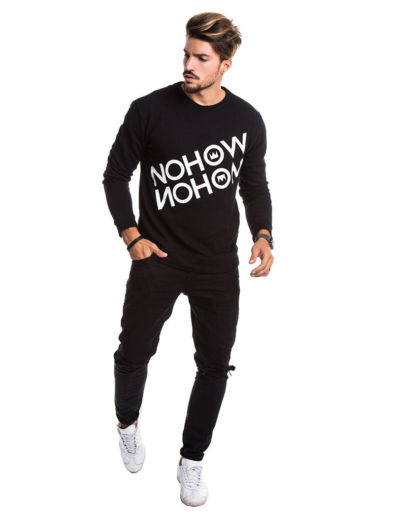 MEN'S CLOTHING | NOHOW TRACKTOP IN BLACK | NOHOW