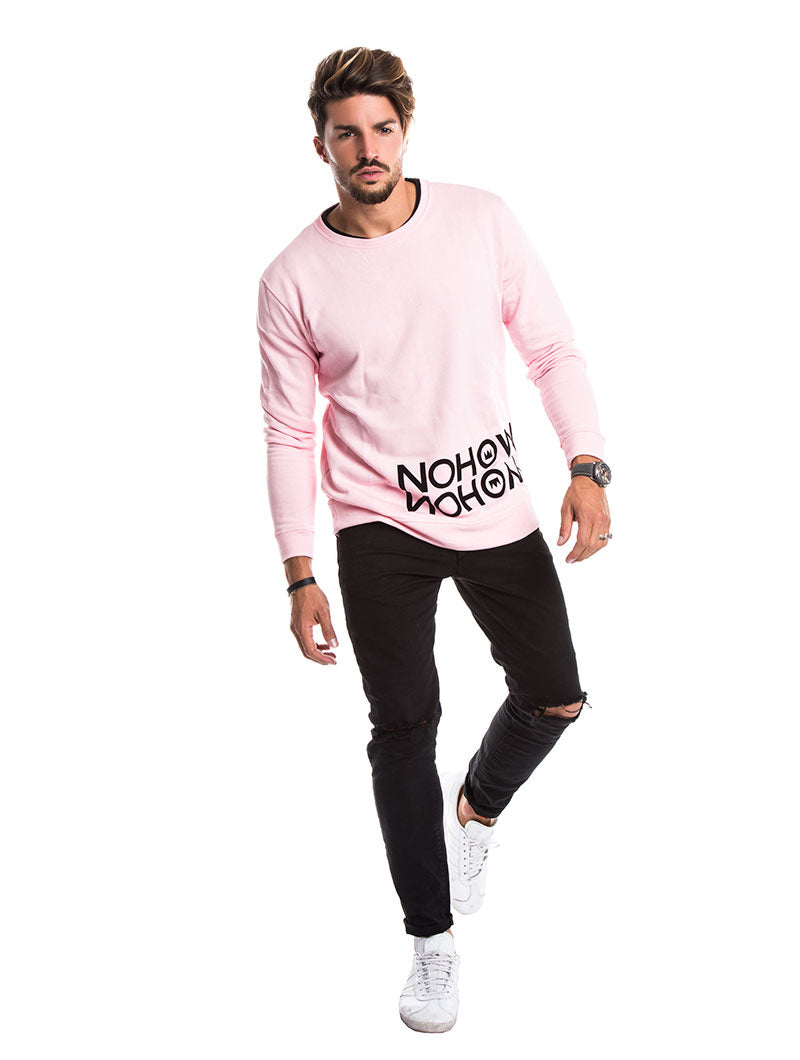 MEN'S CLOTHING | NOHOW TRACKTOP IN PINK | NOHOW