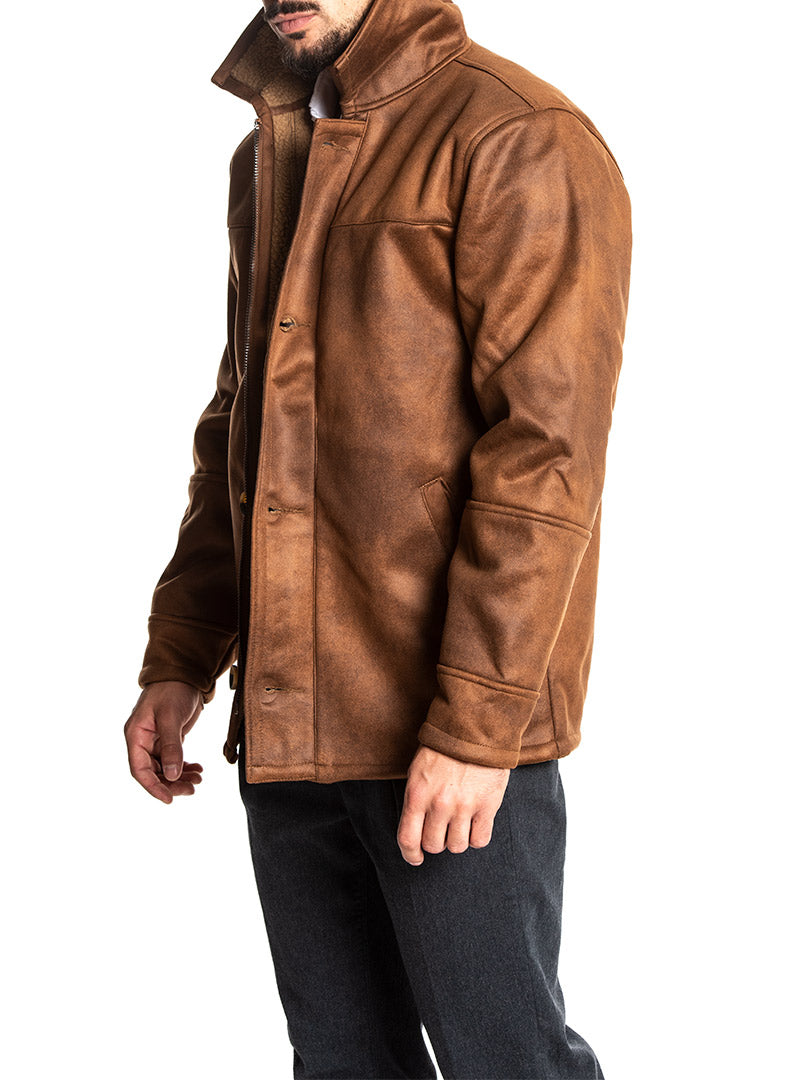 ANGUS JACKET IN BRONZE