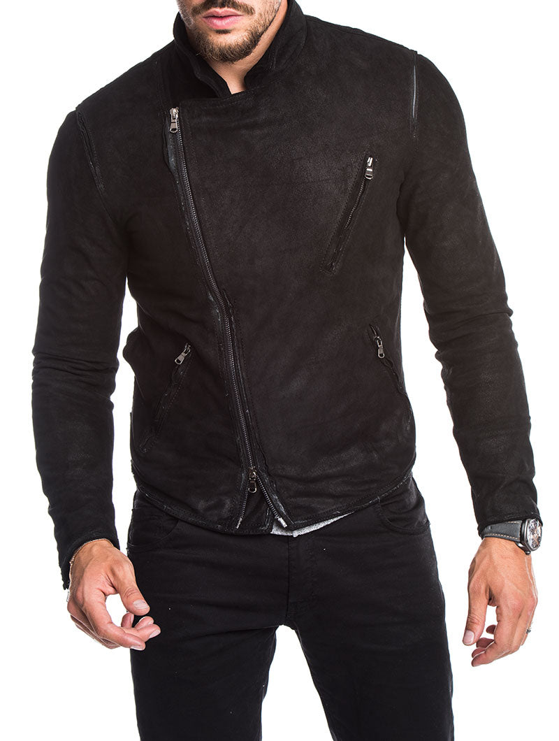 MEN'S CLOTHING | CITY BIKER KIODO IN BLACK | NOHOW