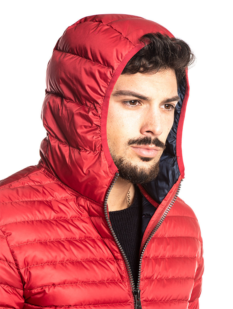COLMAR JACKET IN RED