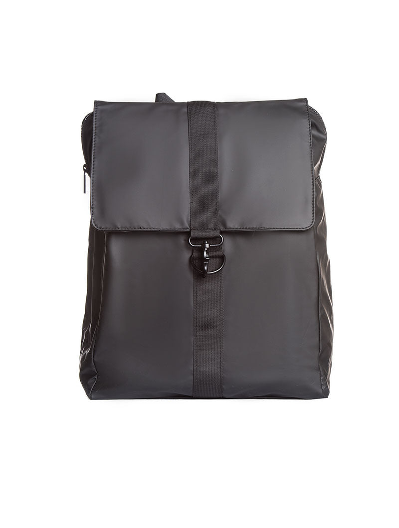 ACCESSORIES | BAGS | UNSTRUCTURED BACKPACK IN BLACK | WATERPROOF | NOHOW