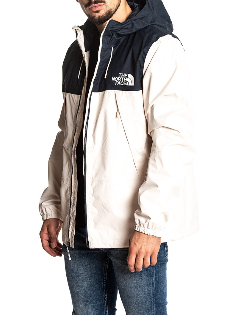 1990 MOUNTAIN JACKET IN WHITE AND BLUE