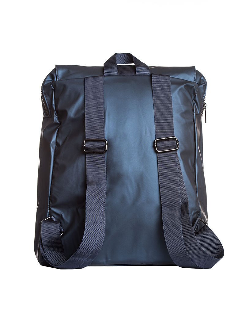 ACCESSORIES | BAGS | UNSTRUCTURED BACKPACK IN BLUE | WATERPROOF | NOHOW