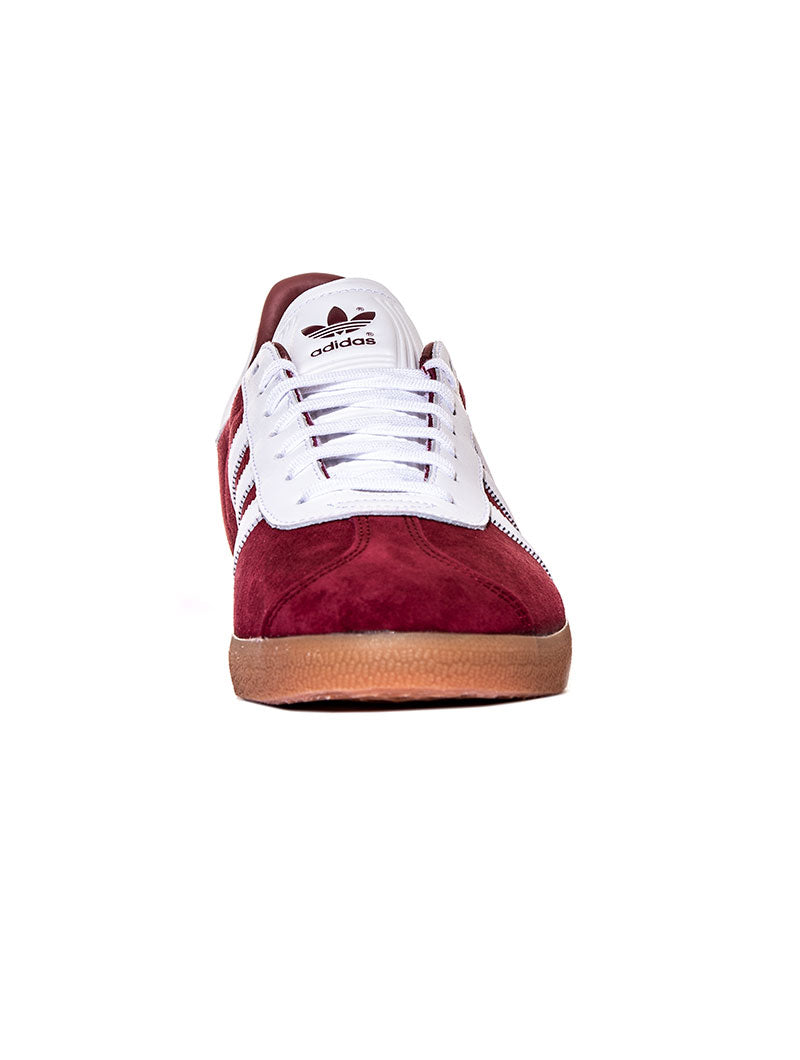 GAZELLE IN COLLEGIATE BURGUNDY