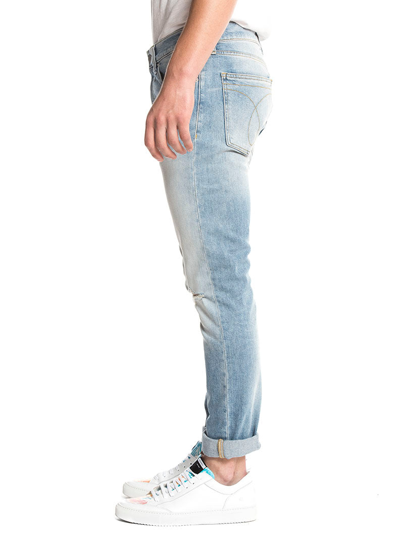 CKJ 016 SKINNY WEST JEANS IN LEGION BLUE DSTR