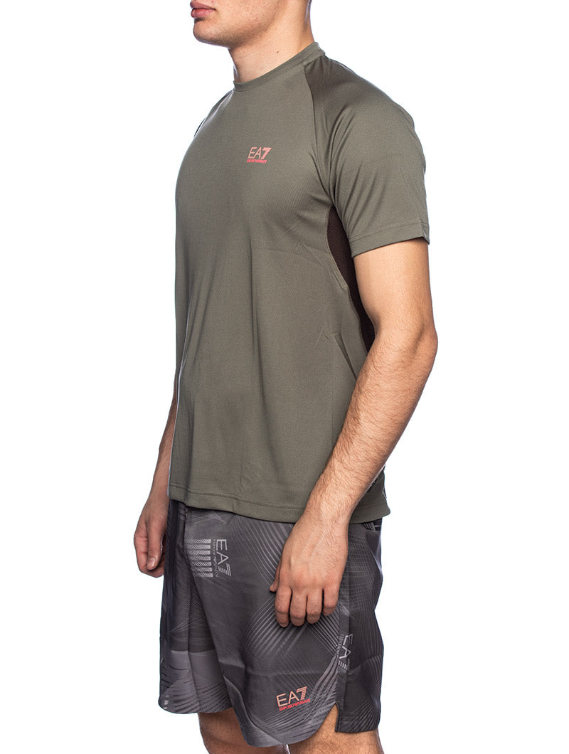 EA7 TRAINING T-SHIRT IN GREEN