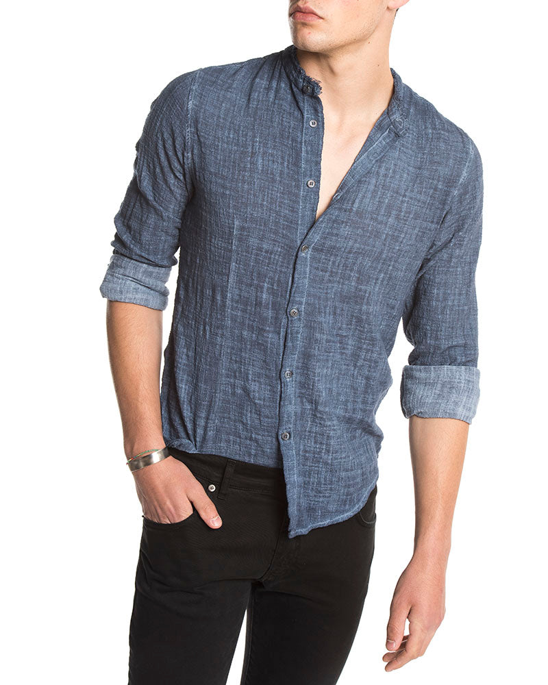 KOBO CASUAL SHIRT IN BLUE