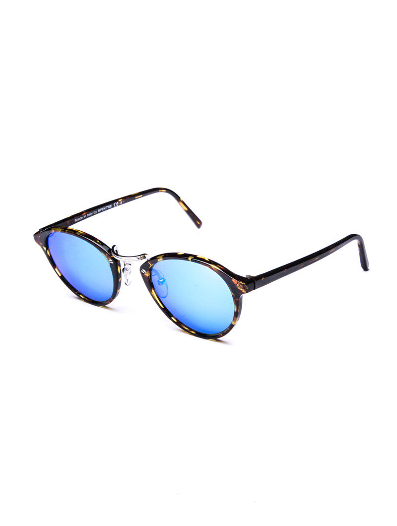 SUNGLASSES | AUDACIA BLUE MIRROR SUNGLASSES | SPEKTRE