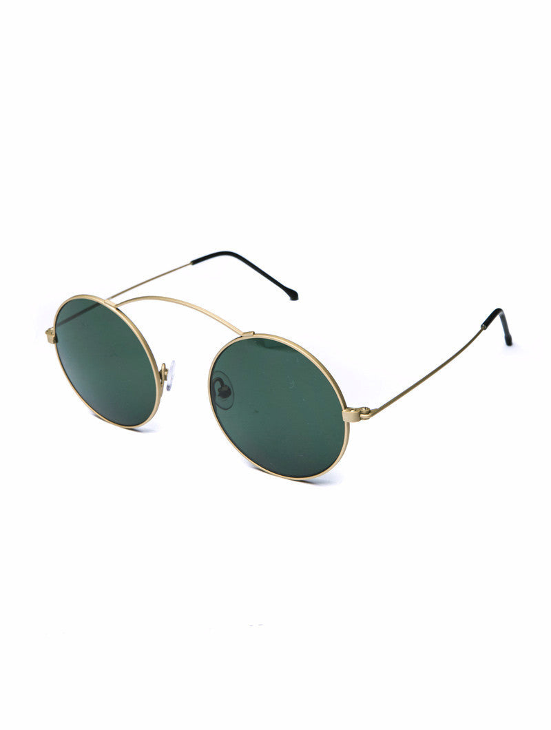 SUNGLASSES | METRO GOLD GREEN SUNGLASSES | SPEKTRE