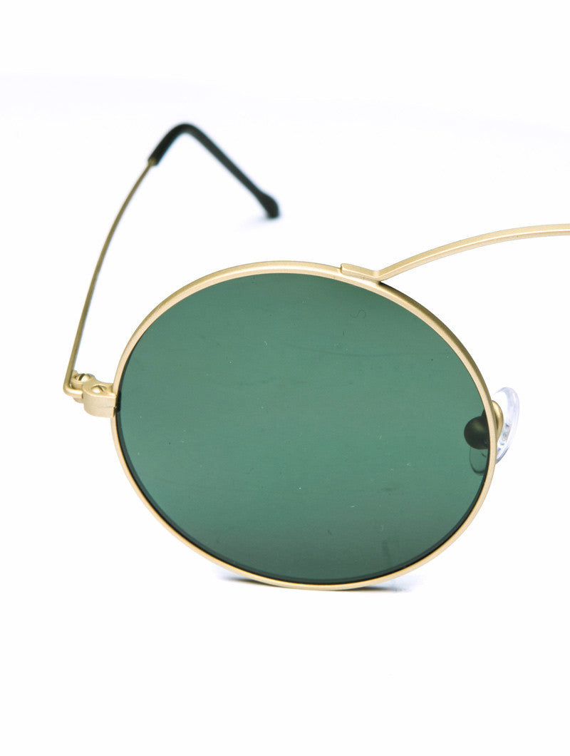 METRO GOLD GREEN SUNGLASSES