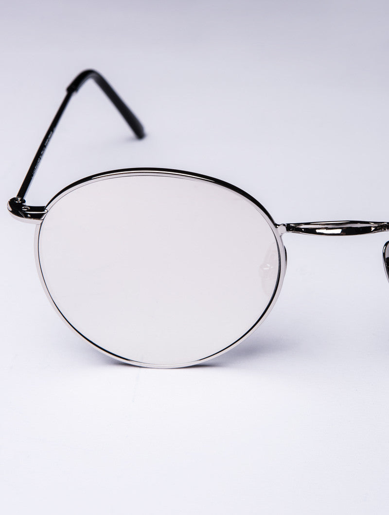 P2 SILVER MIRROR SUNGLASSES