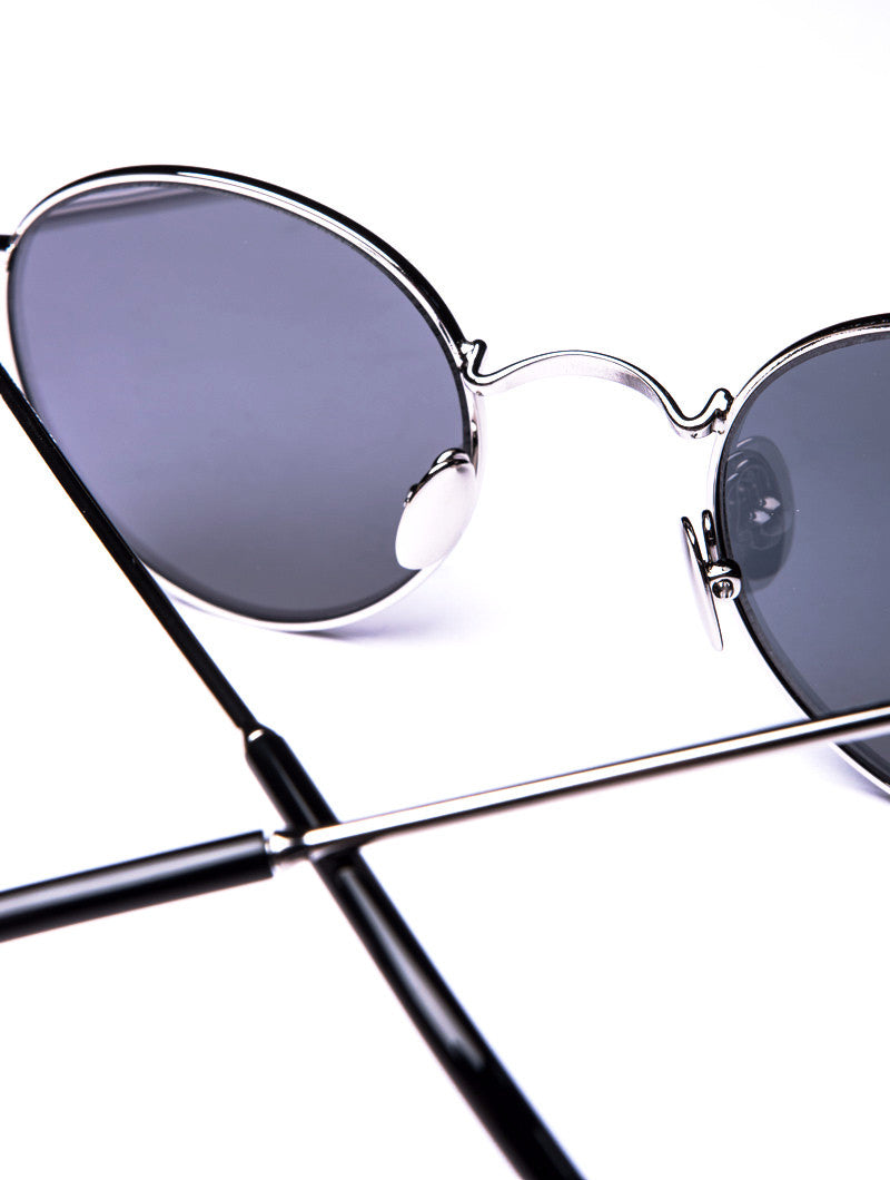 SUNGLASSES | P2 SILVER MIRROR SUNGLASSES | SPEKTRE