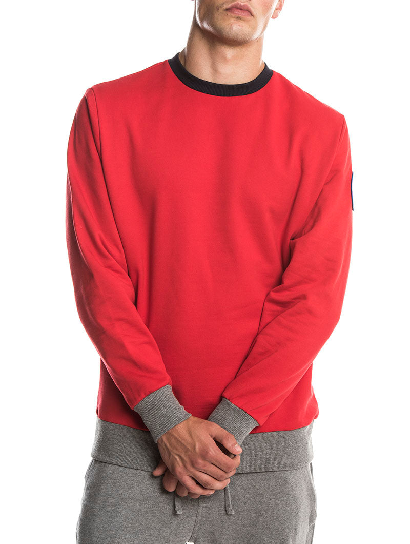 COLMAR SWEATSHIRT IN RED