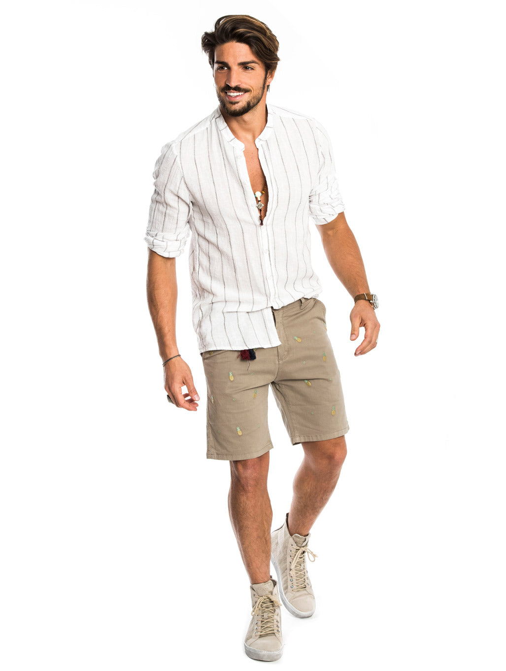 ANANAS SHORTS IN LIGHT KHAKI