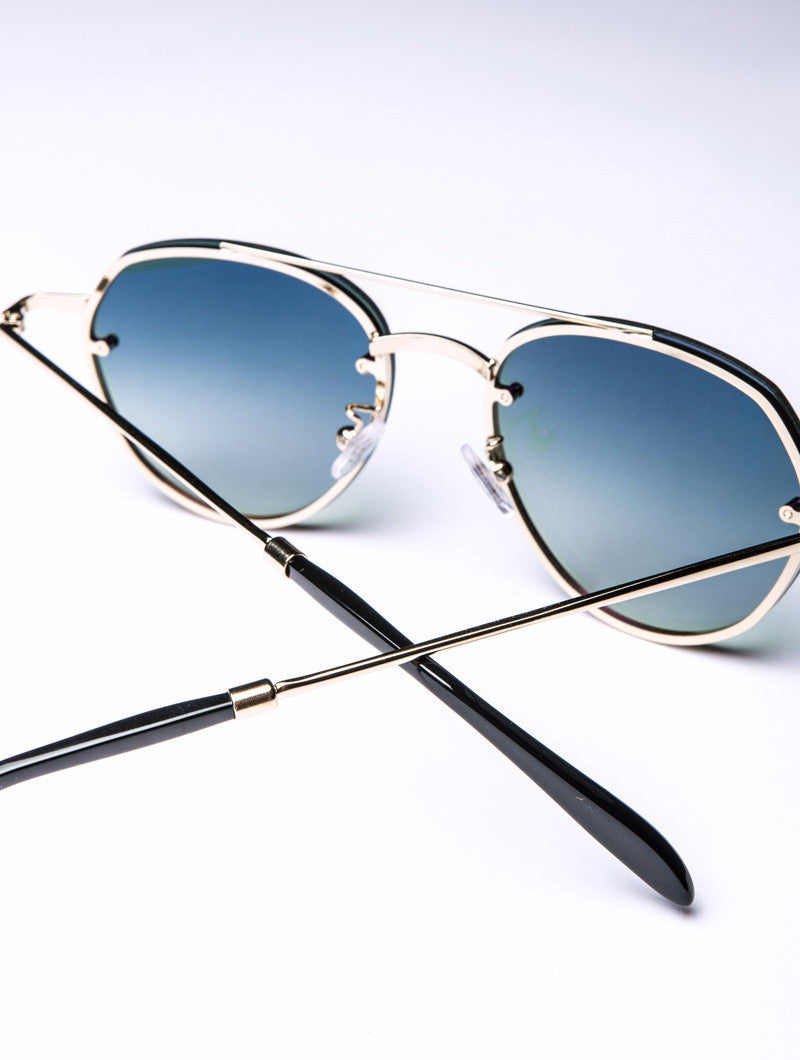 SORPASSO GOLD BOTTLE SUNGLASSES