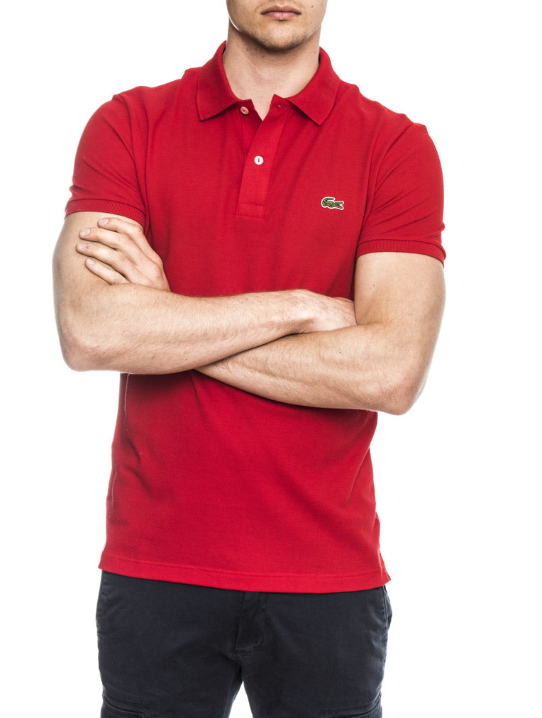 POLO LACOSTE IN RED