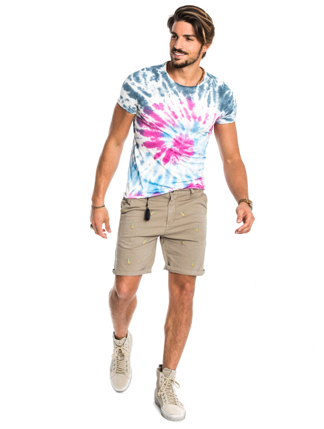 COACHELLA MULTICOLOR T-SHIRT