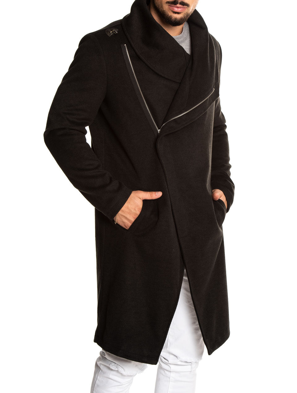 MAYNARD COAT IN BLACK
