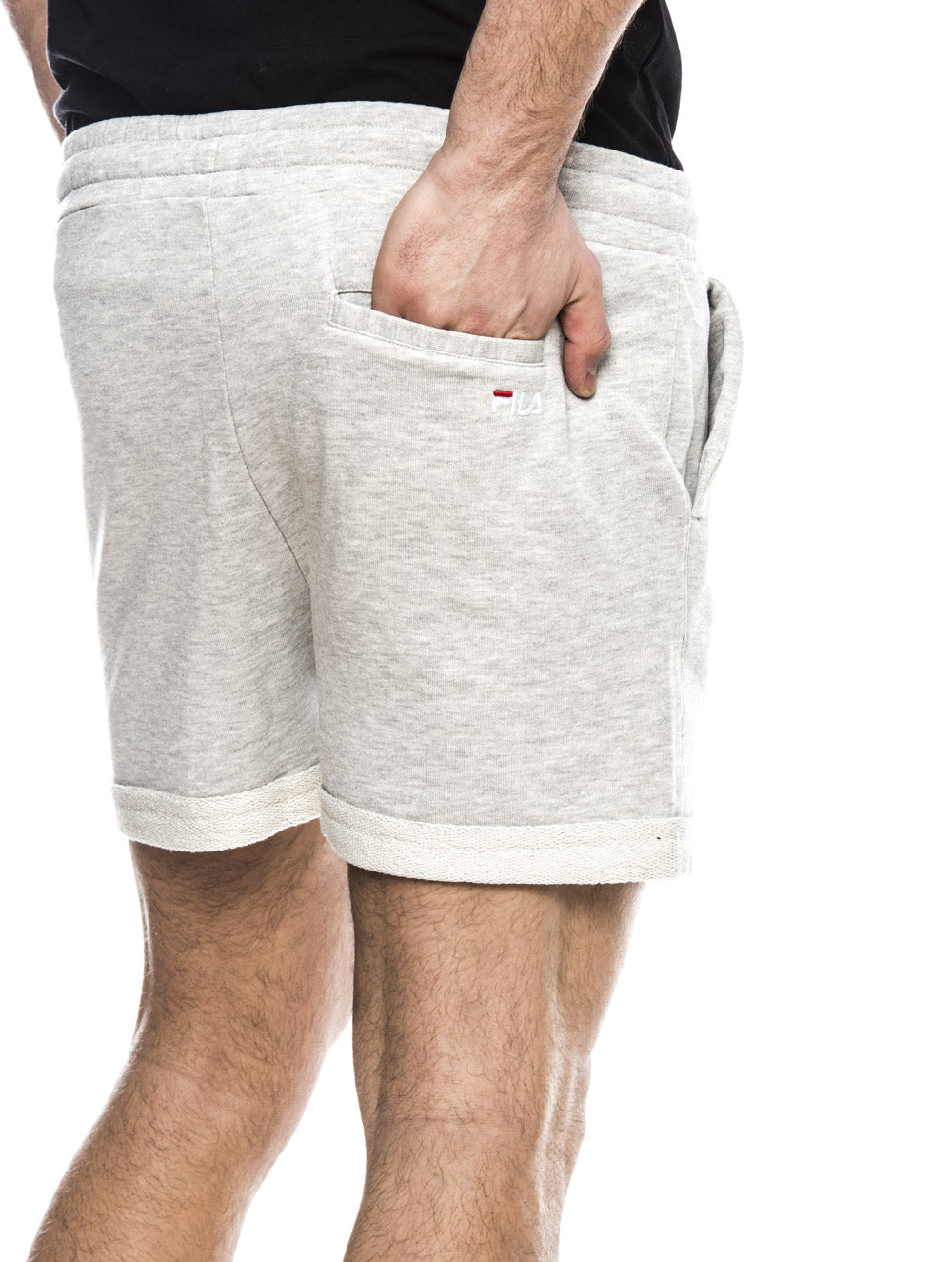 DUSTIN SWEAT SHORTS IN LIGHT GREY