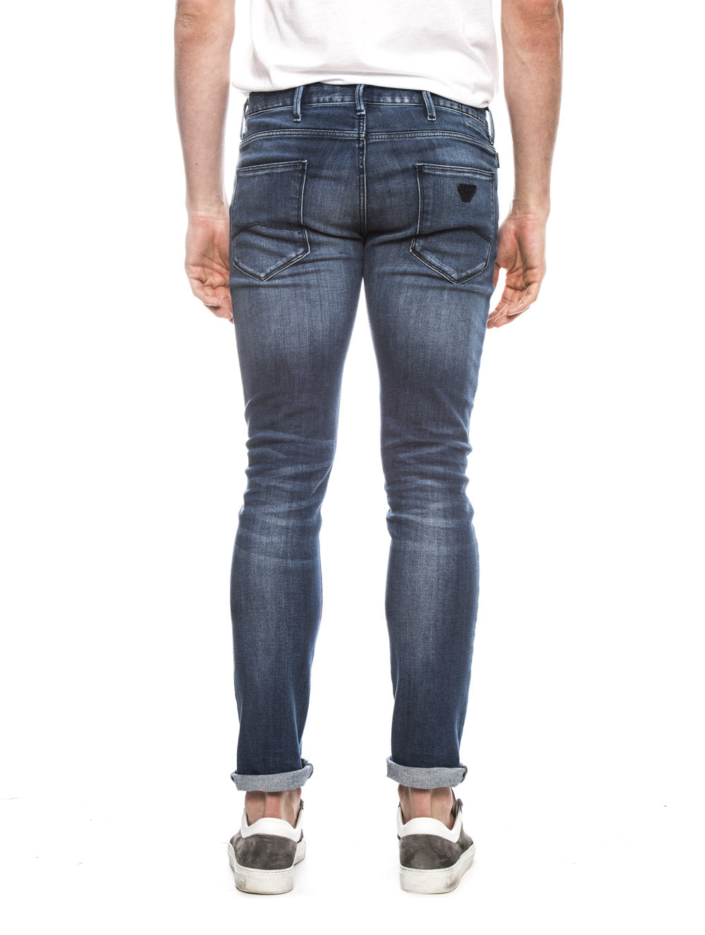 MAN 5 POCKET JEANS IN DENIM BLUE MD