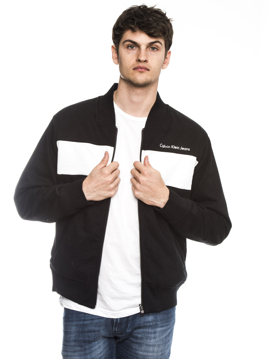 HARSOS REGULAR REVERSIBLE SWEATSHIRT IN BLACK