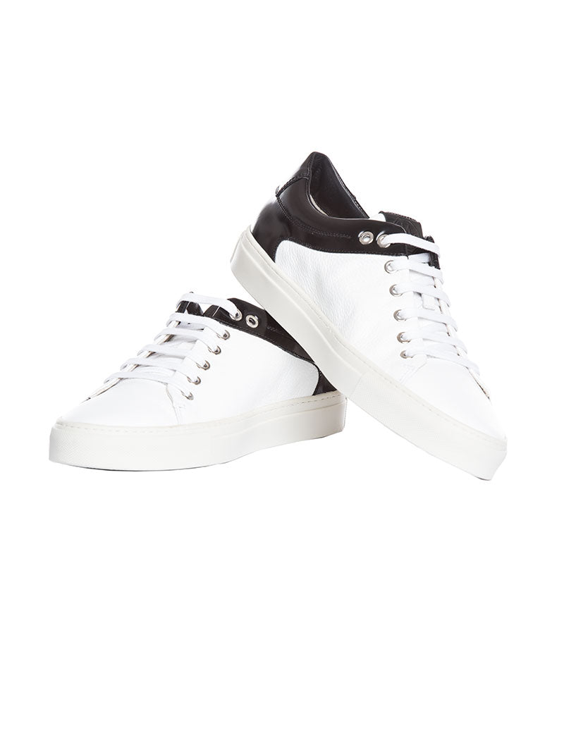 MEN'S SHOES | MERCURY BLACK-WHITE 804M SHOES | MARIANO DI VAIO SHOES