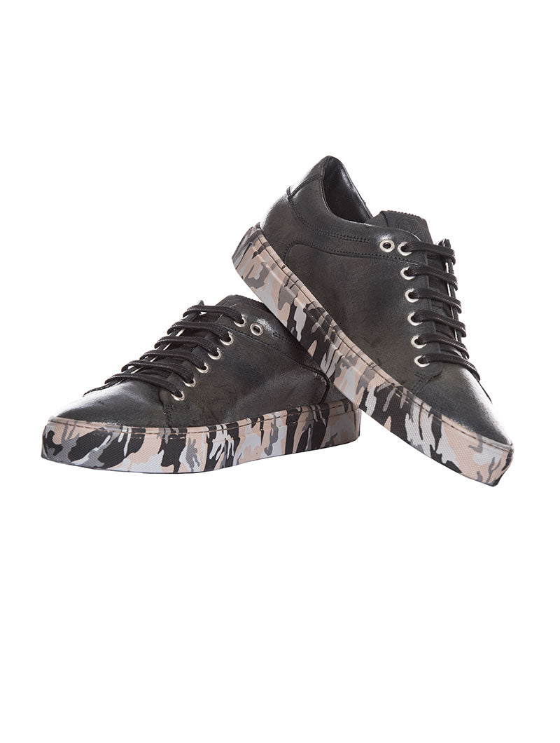 MEN'S SHOES | MERCURY BLACK CAMO F.DO SHOES | MARIANO DI VAIO SHOES