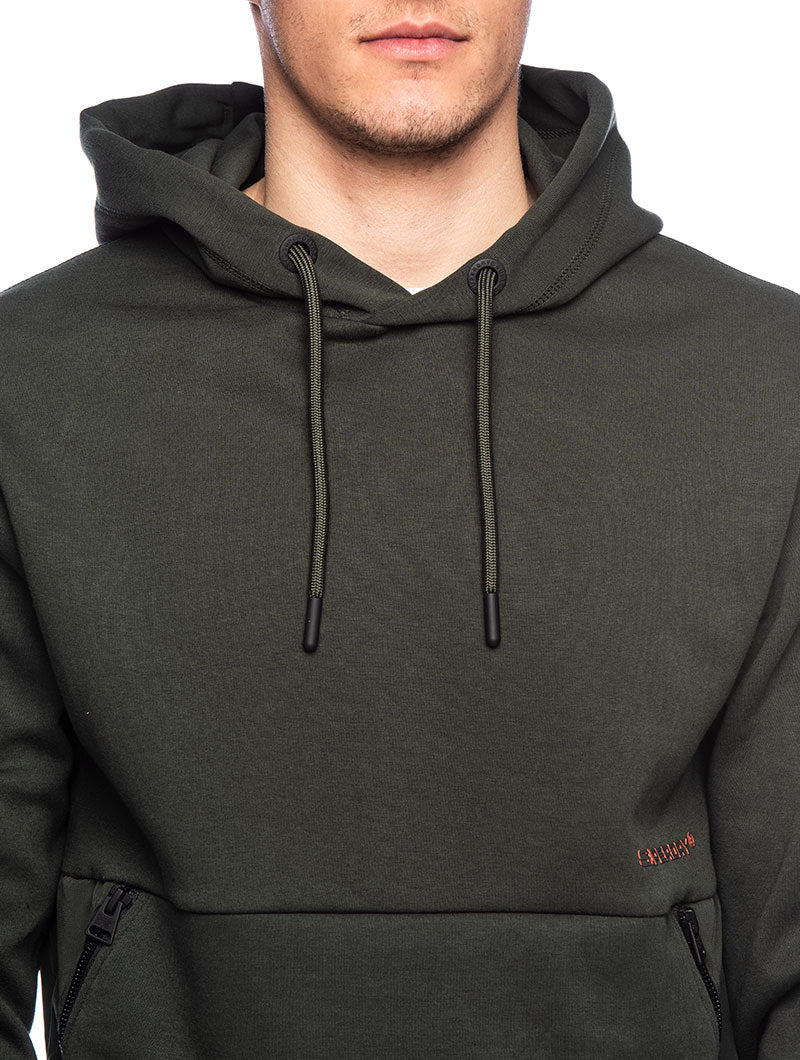 URBAN TECH OVERHEAD HOOD IN OLIVE